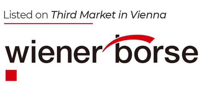 Listed on Third Market in Vienna